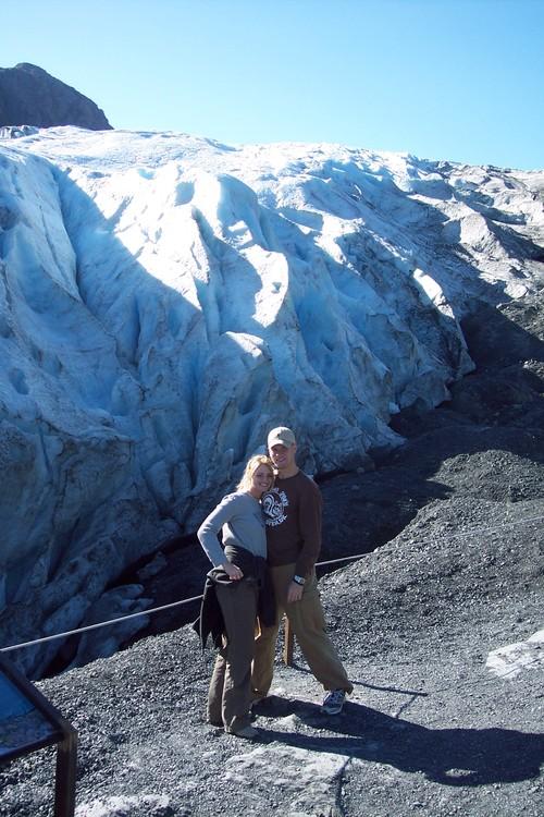 Kids at Exit Glacier, Seward