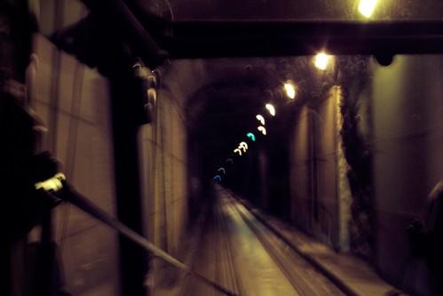 Single Lane Tunnel to Whittier