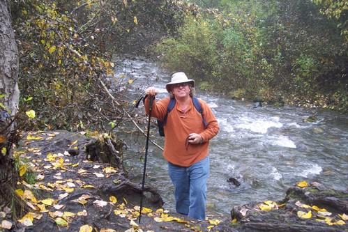 Hiking near Thunderbird Falls