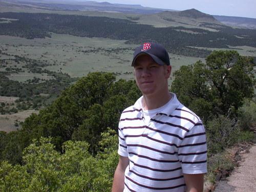 Kevin at Mt. Capulin