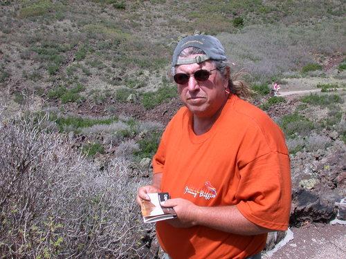 Joe at Mt. Capulin